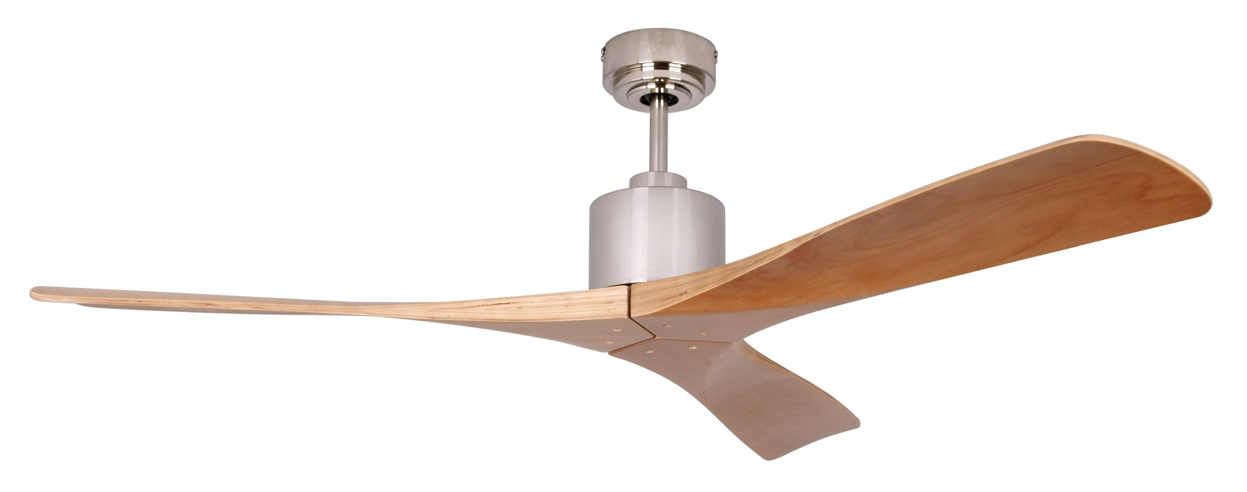 ceiling fan new slice teak ForIkea Ventilatori Da Soffitto