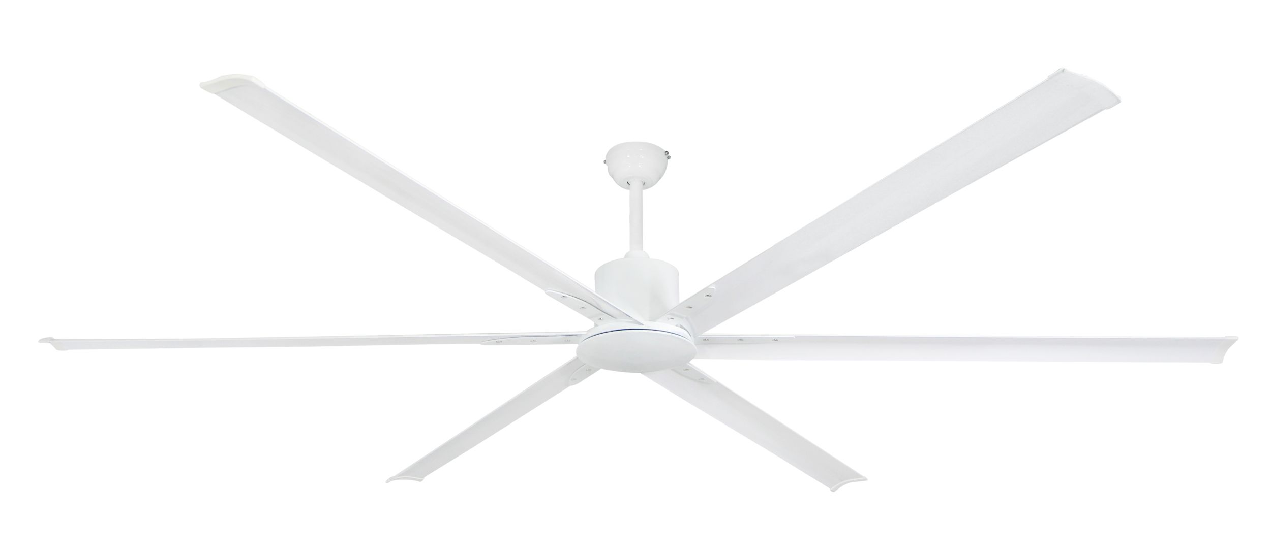 Deckenventilator the big weiss 245 cm for Ikea lampadario ventilatore