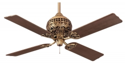 Hunter ceiling fan 1886 Series Burnished Brass 24840