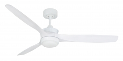 Ceiling fan HYPELIGHT white