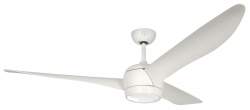 Ceiling fan ARDEN white