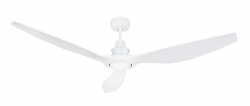 Outdoor DC Ceiling fan TAMAO white with LED