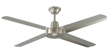 Ceiling fan COLONY 4 brushed nickel
