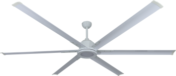 Ceiling fan THE BIG II white 215 CM