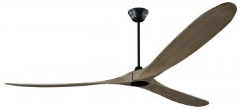 Ceiling fan KOA black Gray 252 cm