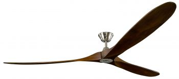 Ceiling fan KOA BN Walnut 252 cm
