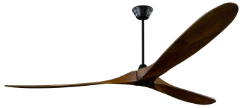 Ceiling fan KOA black walnut 252 cm