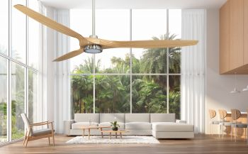 Ceiling fan LINES - LED