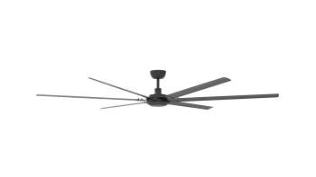 Ceiling fan AIR-260 black 260 CM