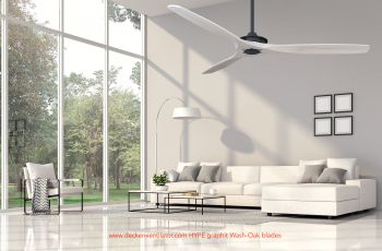 Ceiling fan HYPE GRAPHIT wash oak