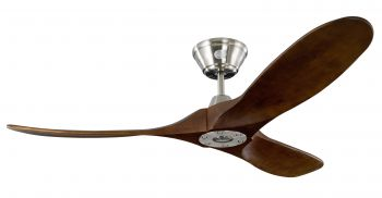 Ceiling fan KOA nickel KOA 132 cm
