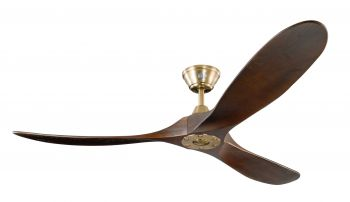 Ceiling fan KOA burnished brass KOA 152 cm