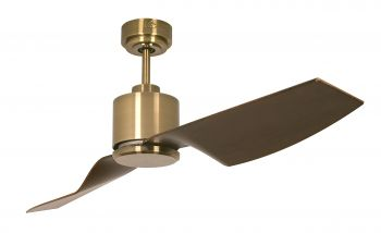 Ceiling fan FACTORY antique brass plastic