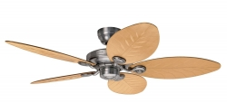Hunter ceiling fan Outdoor II raw aluminium 24325