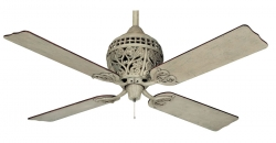 Hunter ceiling fan 1886 Series grey wash