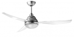 Ceiling fan REMIDA silver