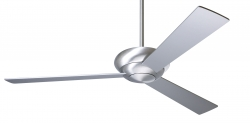 Ceiling fan ALTUS Alu brushed