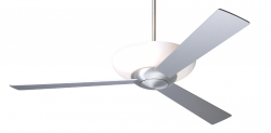 Ceiling fan AURORA Alu brushed