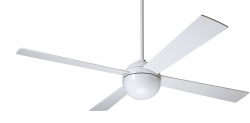 Ceiling fan BALL white
