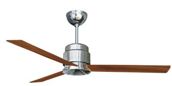 Ceiling fan BROOKLYN chrome