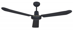 Ceiling fan COLONY black