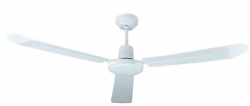 Ceiling fan COLONY white