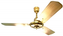 Ceiling fan TAO brass