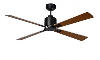 Ceiling fan FACTORY black 132 CM