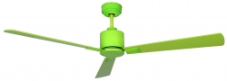 Ceiling fan FACTORY green