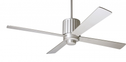 Ceiling fan FLUTE textured nickel