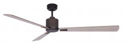 Ceiling fan FACTORY oil rubbed bronze 112 CM