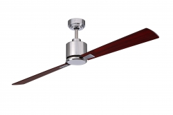 Ceiling fan FACTORY chrome 180