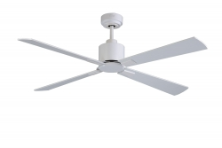 Ceiling fan FACTORY white 112 CM