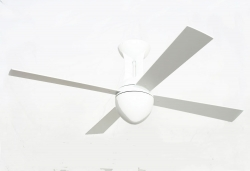 Ceiling fan ECLIPSE white