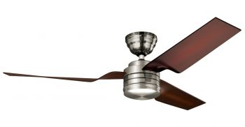 Hunter ceiling fan FLIGHT 24230 brushed nickel