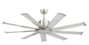 Ceiling fan HURRICANE 3 nickel