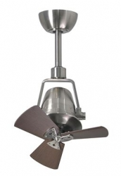 Ceiling fan LIMA walnut