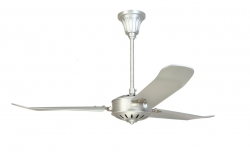Ceiling fan AOBA nickel
