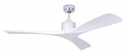 Ceiling fan NEW SLICE CHROME/WHITE