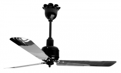 Ceiling fan NEGRESCO alu