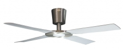 Ceiling fan PACIFIC-LED alu