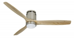 Ceiling fan SLICELIGHT Pine