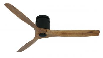 Ceiling fan SLICE black OAK