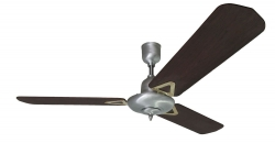Ceiling fan STEEL blackwood