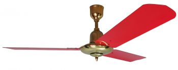 Ceiling fan TAO red