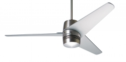 Ceiling fan VELO Alu brushed