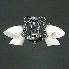 CEILING FAN LIGHT KIT CHANDELIER