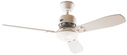 Hunter ceiling fan Mandalay white