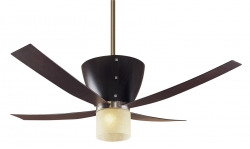 Hunter Deckenventilator Valhalla coffee mit Leuchte